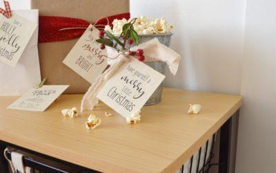 Farmhouse Christmas Gift Tags
