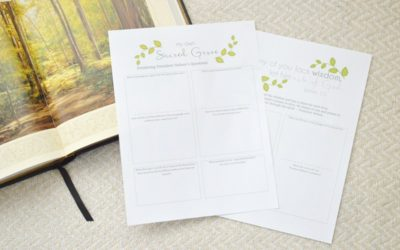 My Own Sacred Grove General Conference Printables