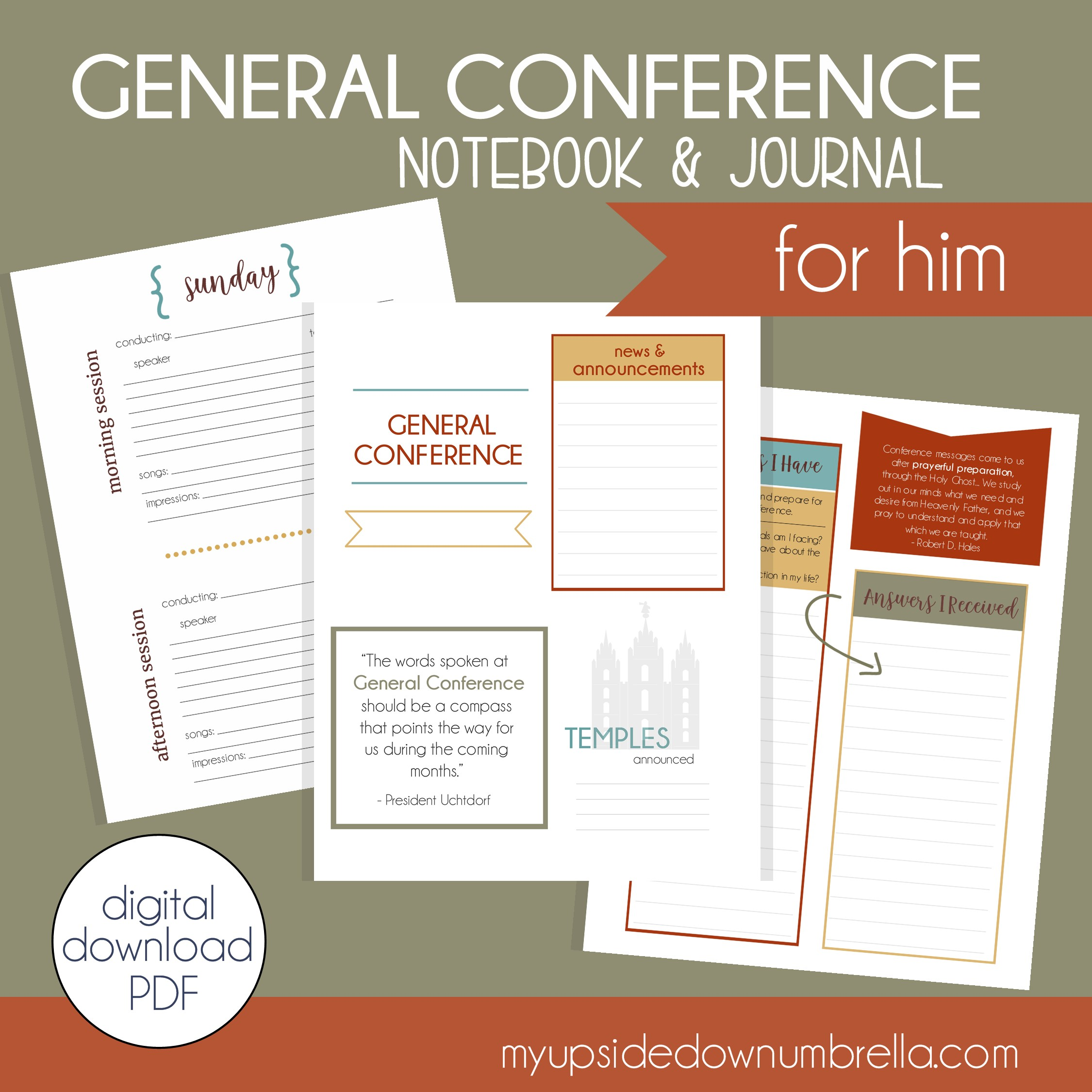 general conference fall journal