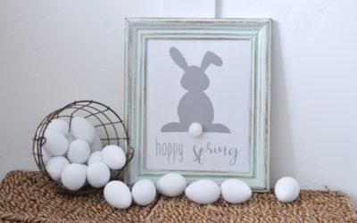 Bunny Tail Farmhouse Easter Printable