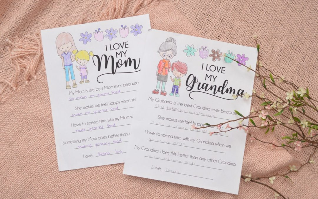 All About My Mom – Mother's Day Printable