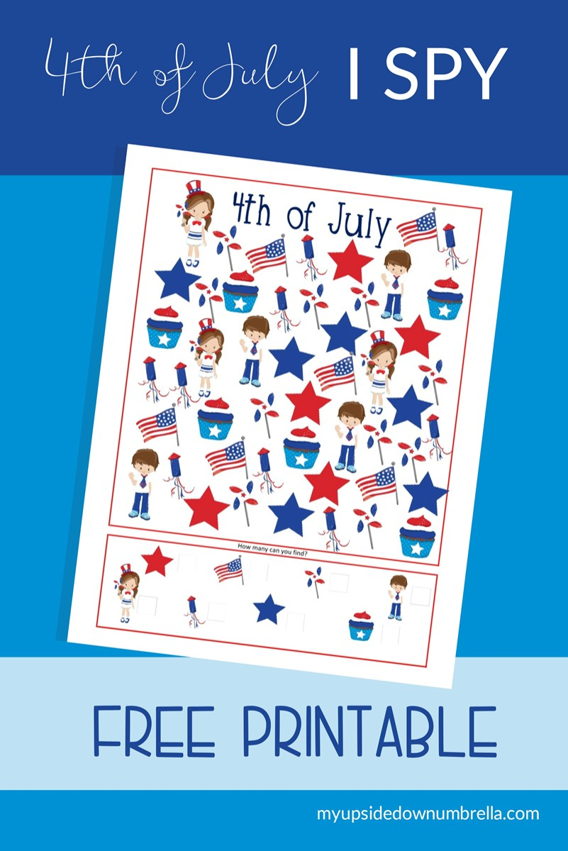 free printable i spy for 4th of july