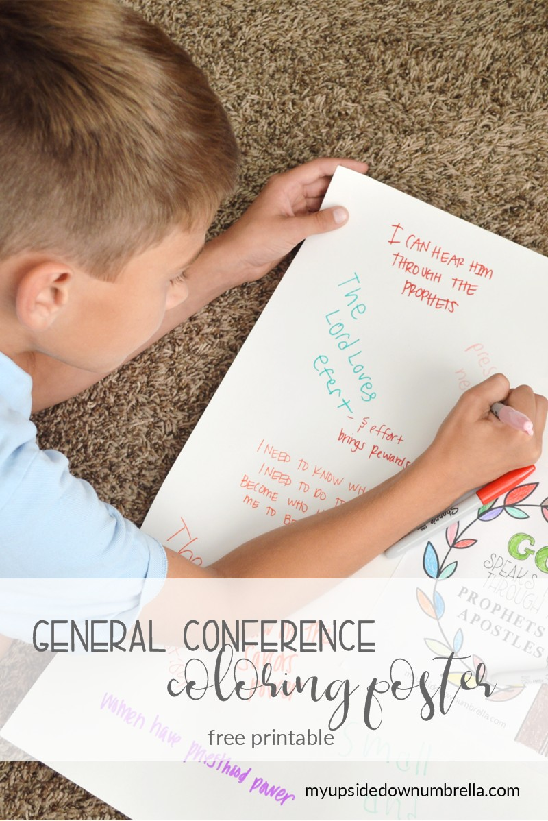 general conference poster