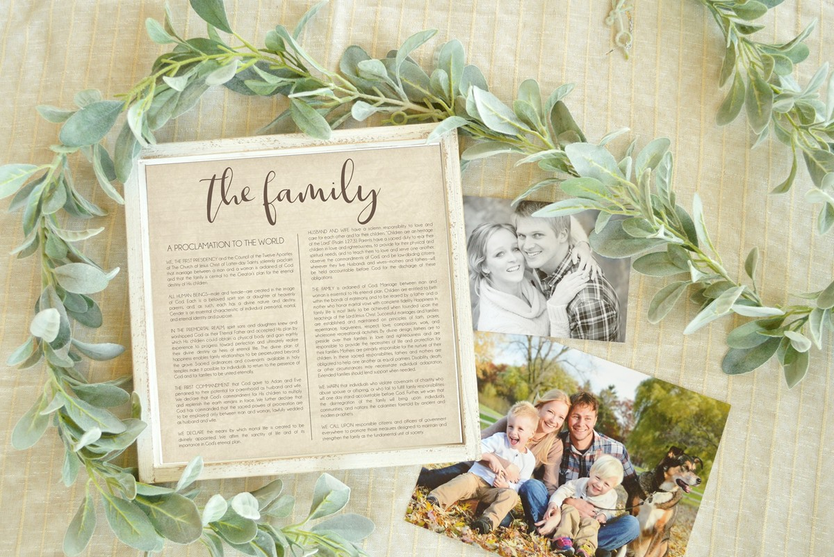 free printable family proclamation