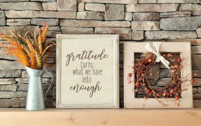 Gratitude Turns What We Have Into Enough Printable