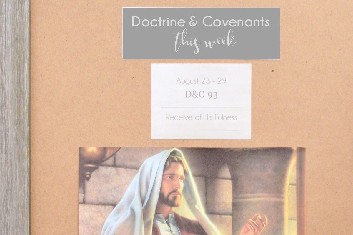 come follow me doctrine and covenants bulletin board