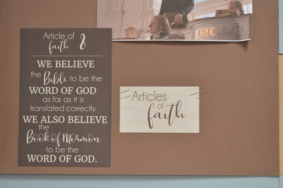 come follow me doctrine and covenants bulletin board for families