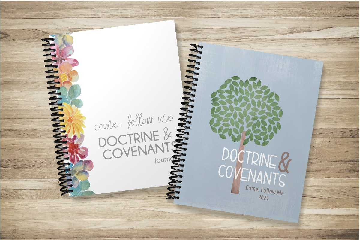 study guide and journal for come follow me doctrine and covenants
