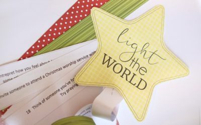 Light the World Christmas Service Chain
