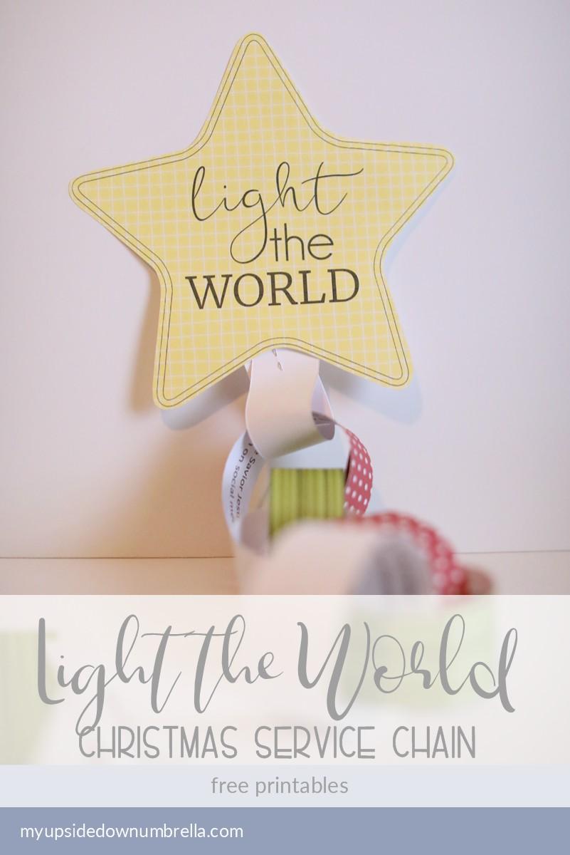 light the world christmas service activity