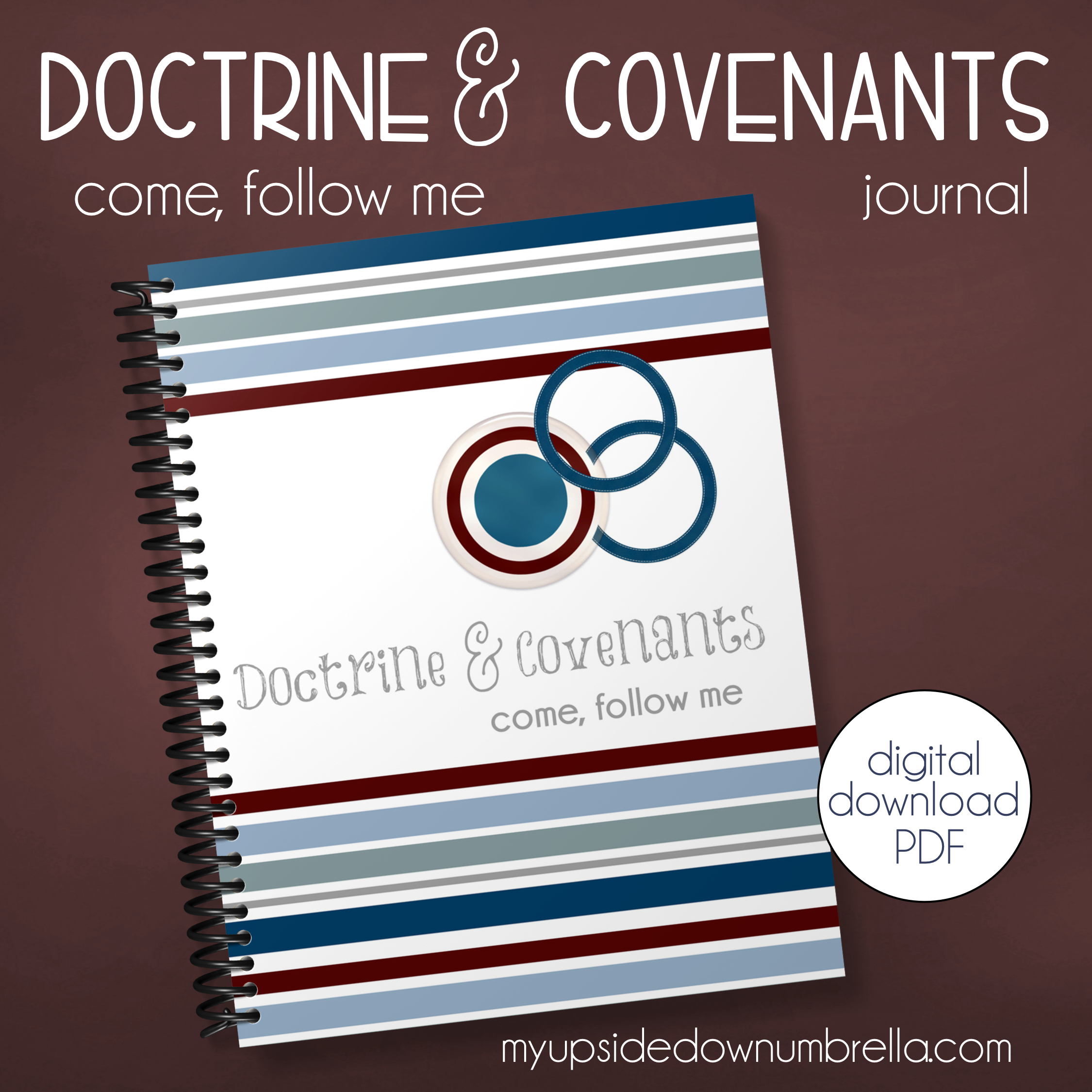 come follow me 2021 doctrine and covenants journal