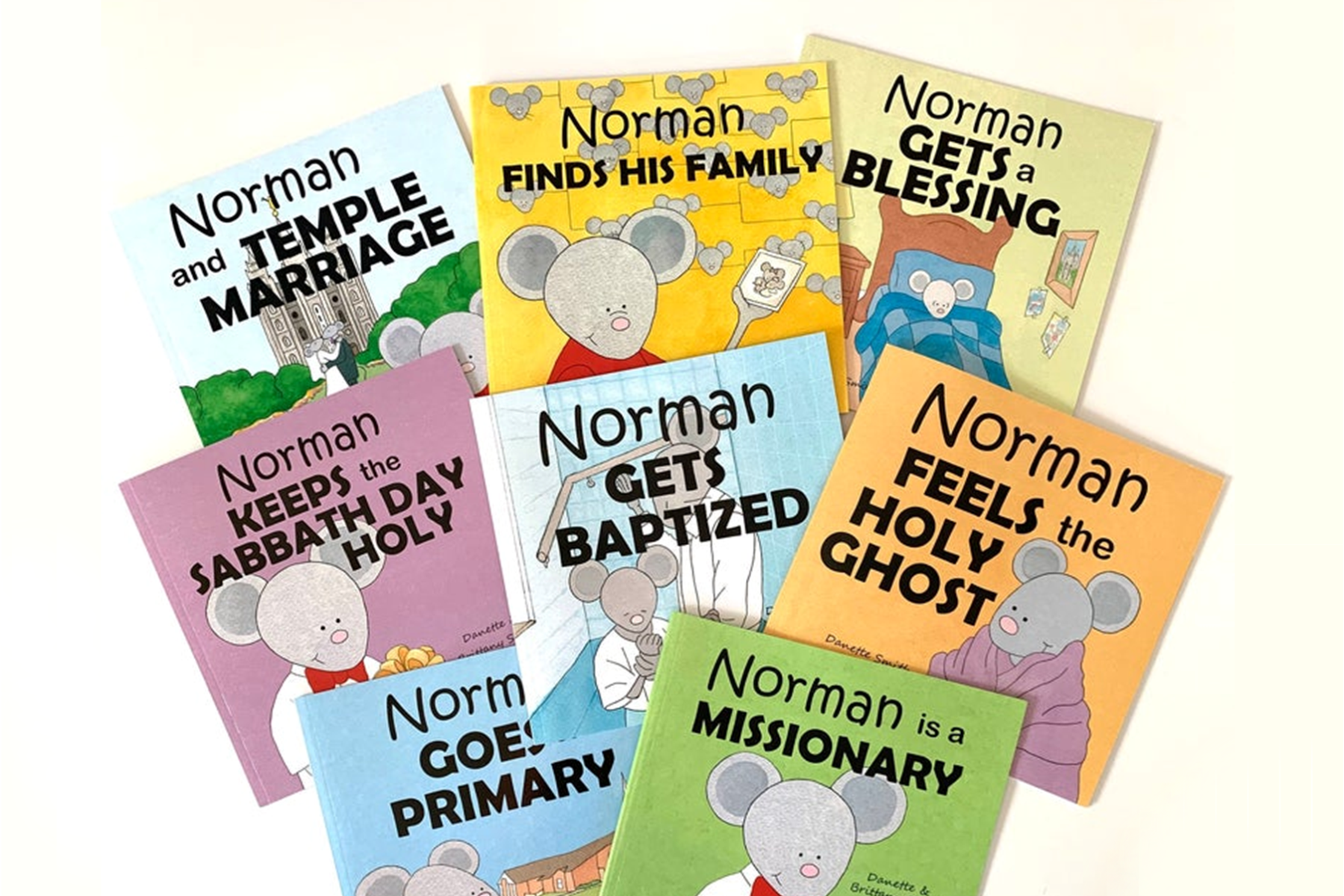 norman the latter day saint books