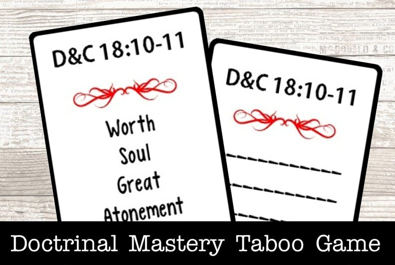 scripture mastery taboo