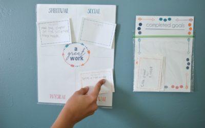Children & Youth Goals Pocket Chart
