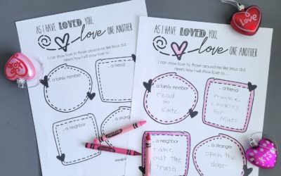 As I Have Loved You – Free Printable Valentine's Day FHE Lesson
