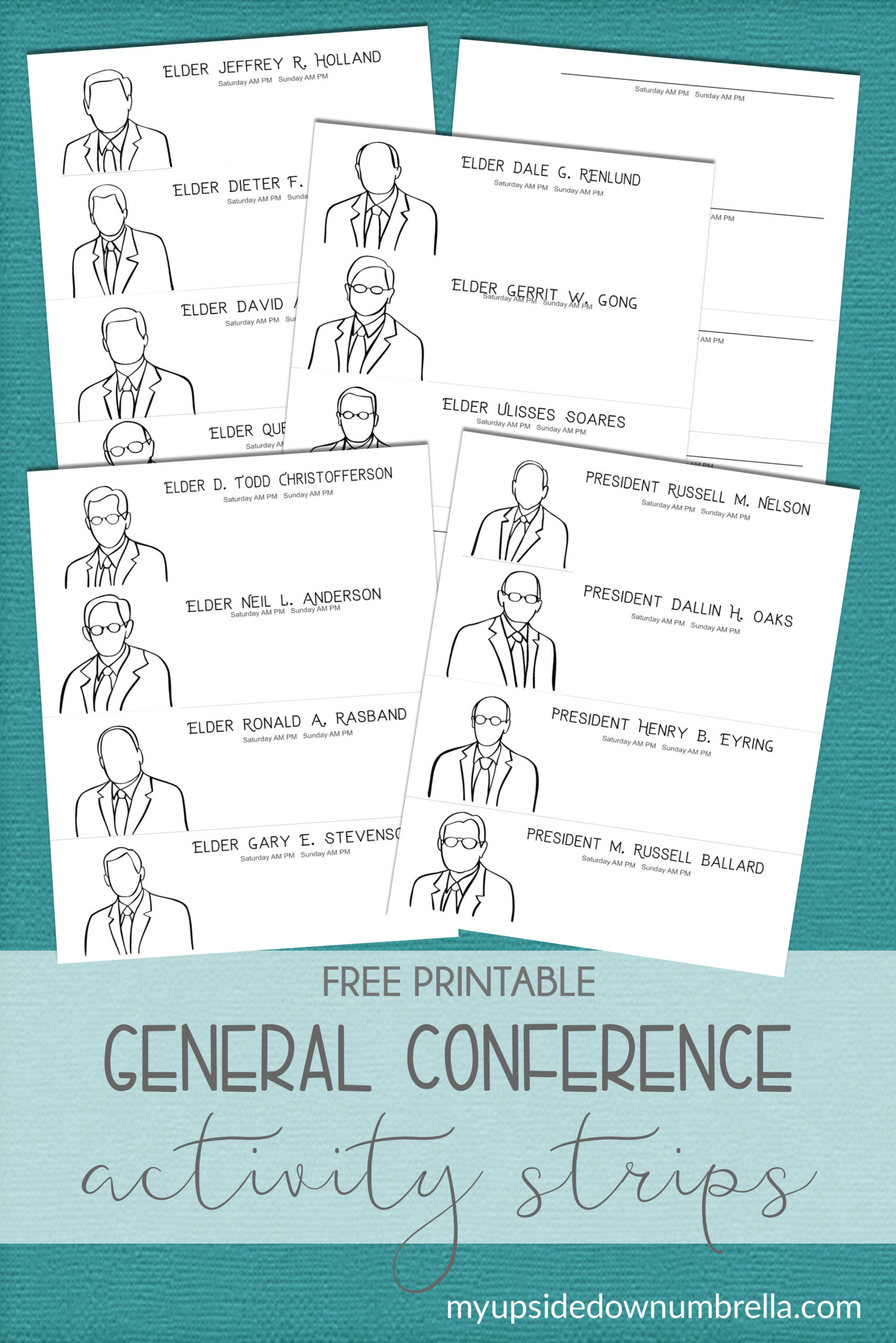 general conference apostles strips