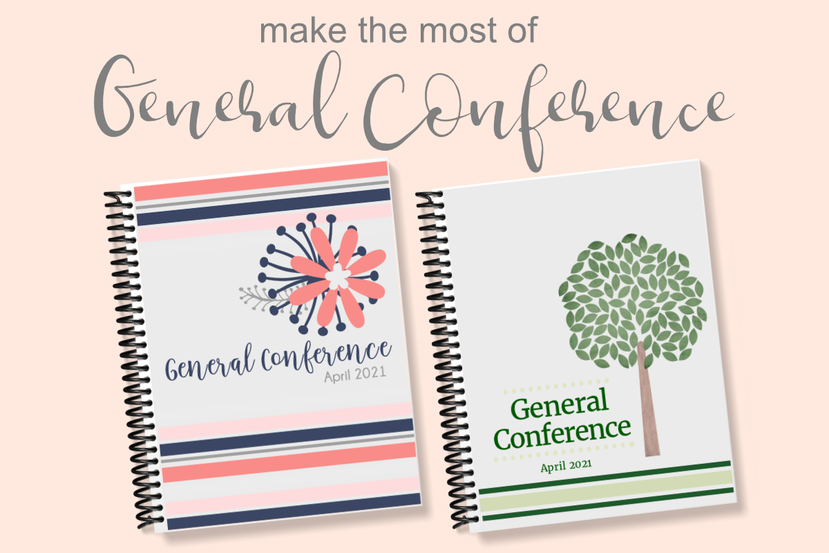 general conference workbooks and journals