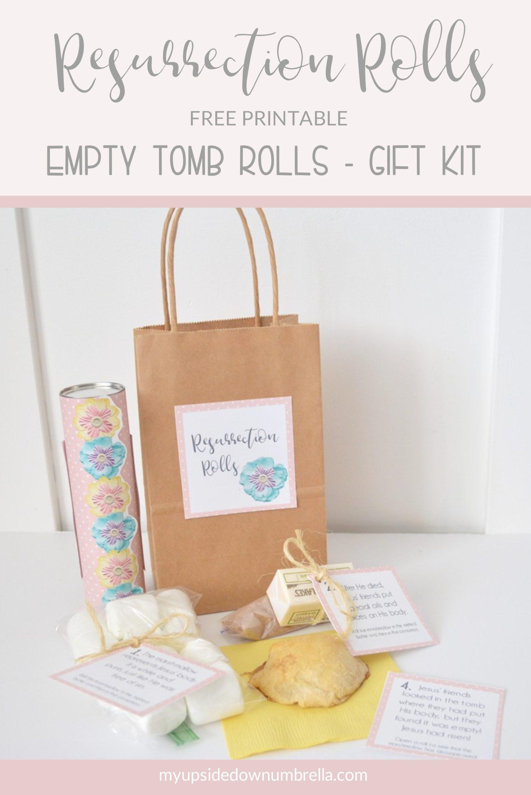 easter gift resurrection rolls kit