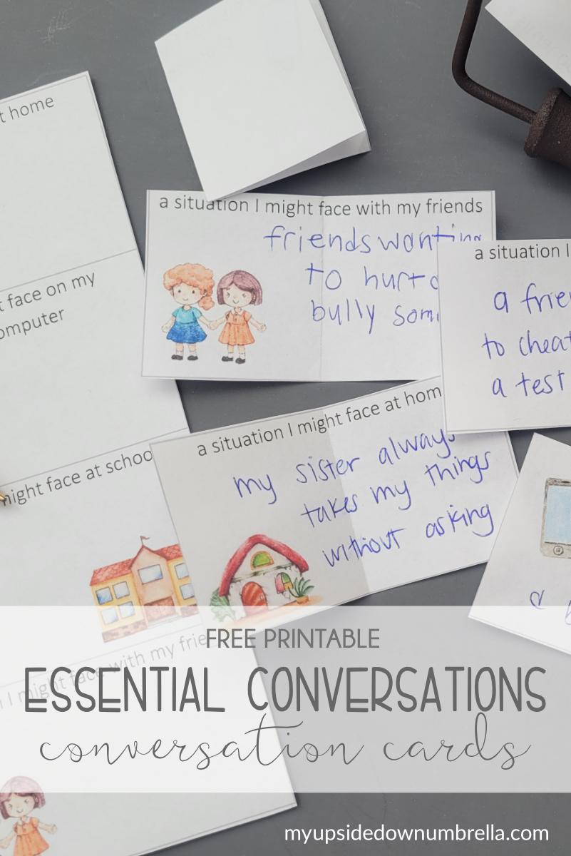 essential conversation family conversation starter cards