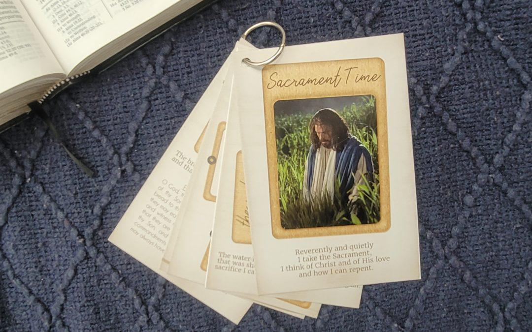 Sacrament Time – Quiet Book