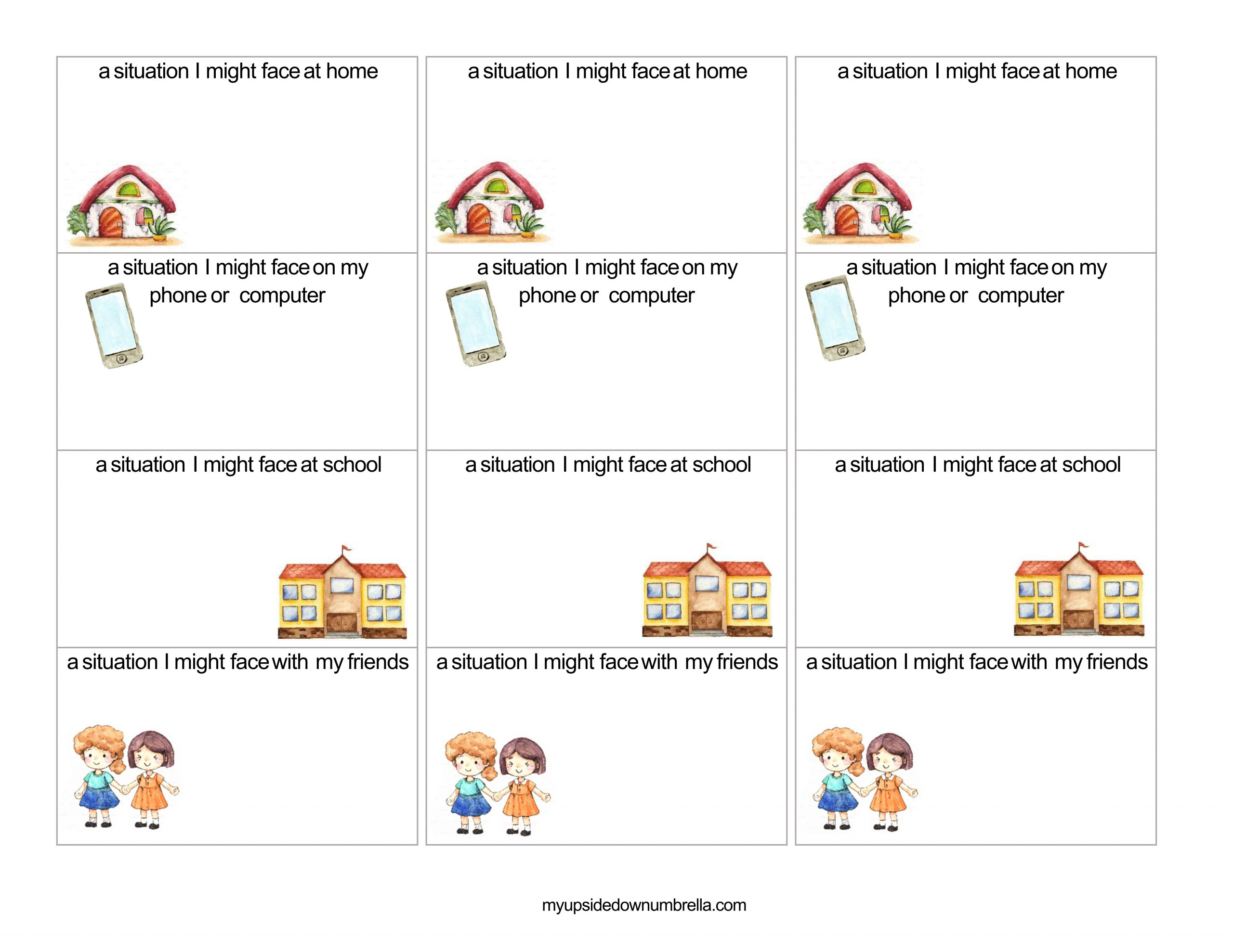 essential conversations cards for FHE lesson LDS general conference